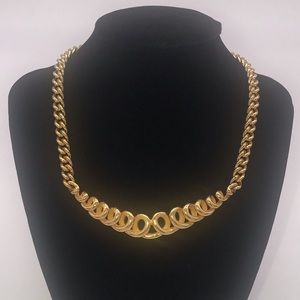 Christian Dior Vintage Gold Chain Necklace